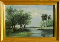 Picturi cu peisaje Peisaj in Delta 10