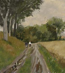 Picturi cu peisaje peisaj vara 21.