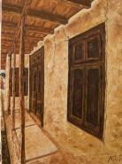 Picturi cu peisaje Casa batraneasca
