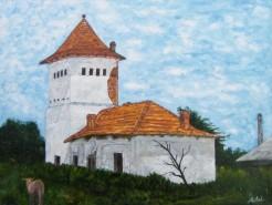 Picturi cu peisaje Fosta moara - furculesti-