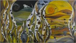 Picturi cu peisaje New world