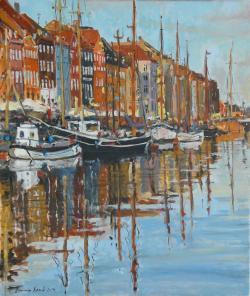 Picturi maritime navale Port nordic