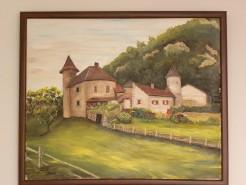 Picturi cu peisaje Conac