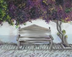 Picturi cu peisaje La umbra