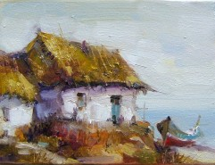 Picturi cu peisaje Cherhana la malul marii
