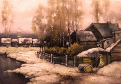 Picturi cu peisaje Sat argesean