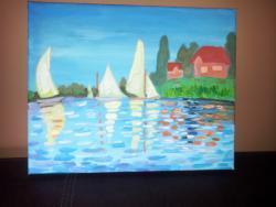 Picturi cu peisaje Mal