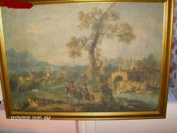 Picturi cu peisaje SCENA BAROC