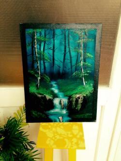Picturi cu peisaje Bazmatic