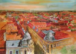 Picturi cu peisaje Cluj 1
