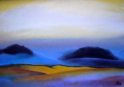 Picturi cu peisaje Sunset Late 4