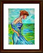 Picturi cu peisaje Nevasta marinarului