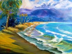 Picturi cu peisaje A new day