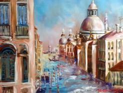 Picturi cu peisaje Grand canal venice - italy,