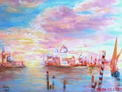 Picturi cu peisaje Venice lagoon