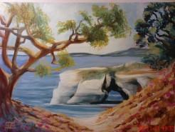 Picturi cu peisaje Waverley arch