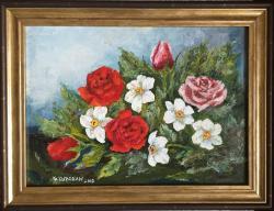 Picturi cu peisaje Flori_