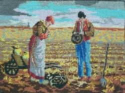 Picturi cu peisaje La rugaciune
