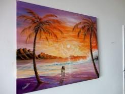 Picturi cu peisaje  vis implinit
