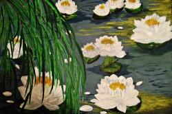 Picturi cu peisaje Nuferi