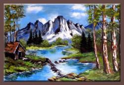 Picturi cu peisaje Gura de aer