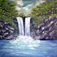 Picturi cu peisaje Cadere de apa