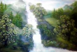 Picturi cu peisaje Cascada
