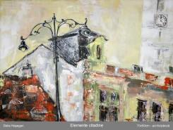 Picturi cu peisaje Elemente citadine