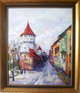Picturi cu peisaje Nostalgica str.cetatii