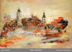 Picturi cu peisaje Sibiu,tendinte 1