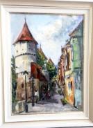 Picturi cu peisaje Turnurile cetatii
