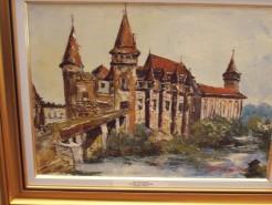 Picturi cu peisaje Castelul huniazilor