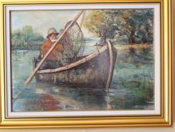 Picturi cu peisaje La pescuit