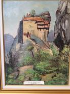 Picturi cu peisaje Meteora
