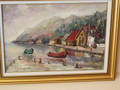 Picturi cu peisaje Peisaj in corfu