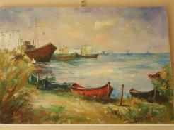 Picturi cu peisaje Peisaj la mangalia