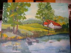 Picturi cu peisaje La Lipoveni