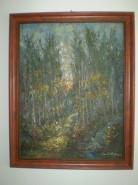 Picturi cu peisaje Padure vara