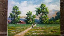 Picturi cu peisaje in amintire