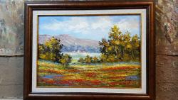 Picturi cu peisaje maci de camp