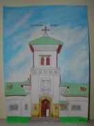 Picturi cu peisaje Manastirea dealu