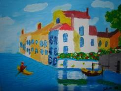 Picturi cu peisaje Vis venetian