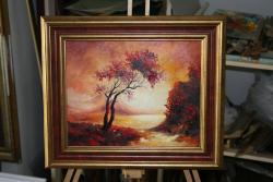 Picturi cu peisaje SUN RISE