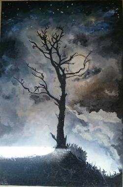 Picturi cu peisaje Noapte98