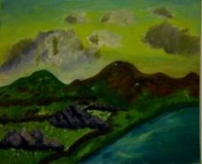 Picturi cu peisaje Arenig fawr 2