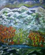 Picturi cu peisaje Winter scene