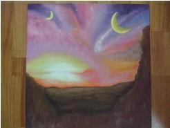 Picturi cu peisaje Un vis