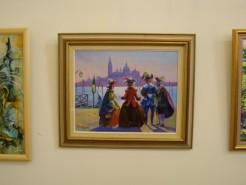 Picturi cu peisaje Carnaval la Venetia
