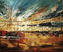 Picturi cu peisaje Apus