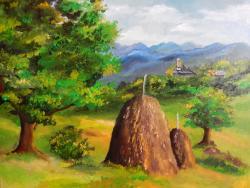 Picturi cu peisaje Peisaj pitoresc1